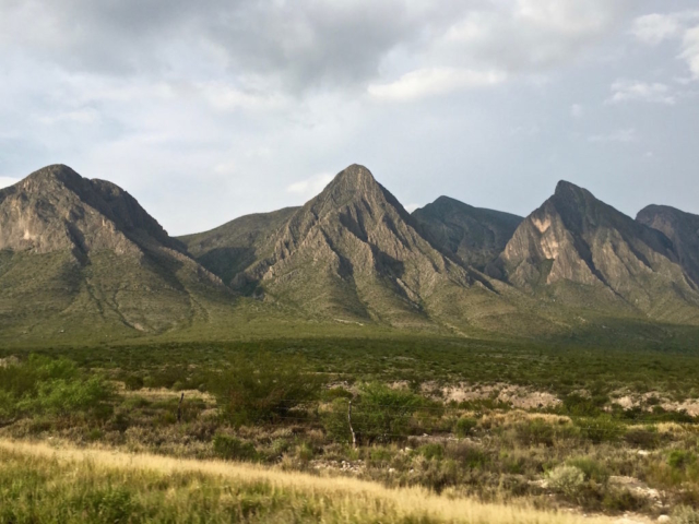Three mountains in north Mexico